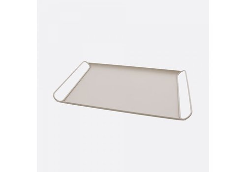Point-Virgule Point-Virgule Metal Serving Tray Blush Pink Matt 45 cm