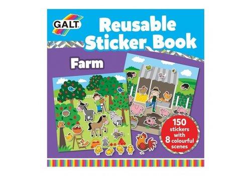 Galt Galt Boek met Herbruikbare Stickers - De Boerderij