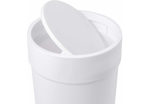 Umbra Umbra Touch Waste Bin with Lid White