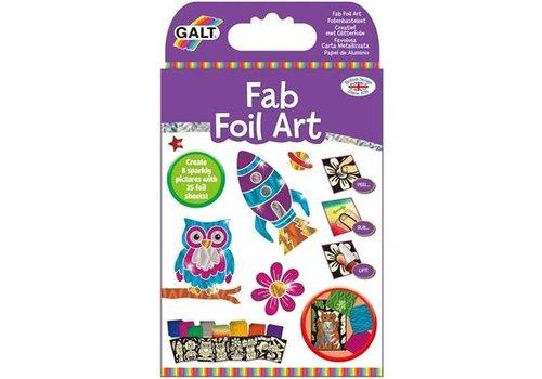 Galt Galt Fab Foil Art Créatif avec du papier d'aluminium à paillettes