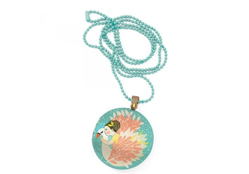 Djeco Djeco Lovely Charms Surprise Ketting Zwaan