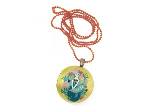 Djeco Djeco Lovely Charms Necklace Surprise Mermaid