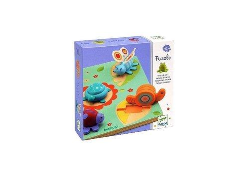 Djeco Djeco Wooden Puzzle  Lilo