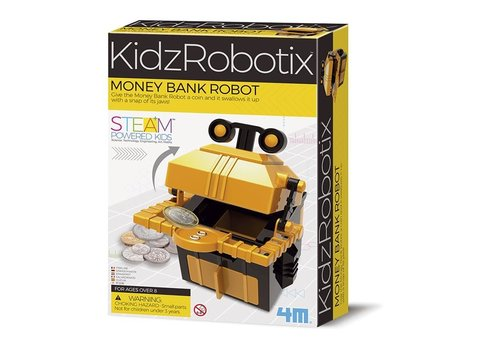 4M 4M KidzRobotix Money Bank Robot