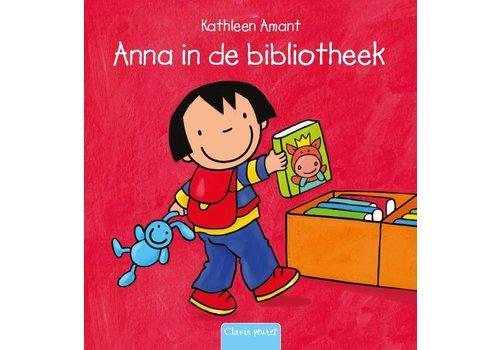 Clavis Clavis Leesboekje Anna in de Bibliotheek