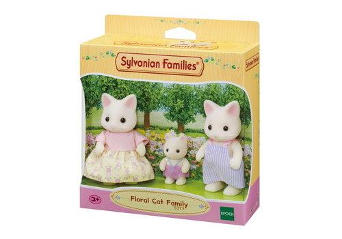Sylvanian Families Sylvanian Families Floral Cat family