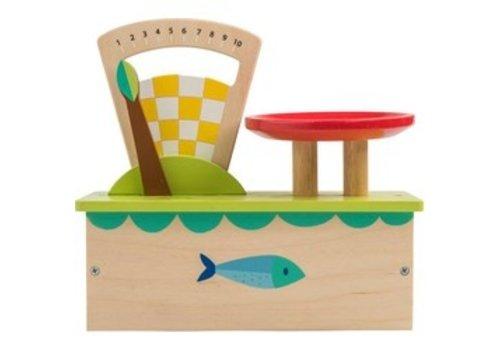 Tender Leaf Toys Tender Leaf Toys Wooden Scales with Fruit