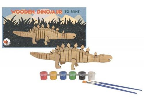 Egmont Toys Egmont Toys Wooden Dinosaur to Paint