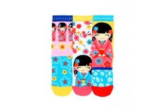 Odd Socks ODD Socks Kimmi Set met 3 Sokken maat 30,5 - 38,5