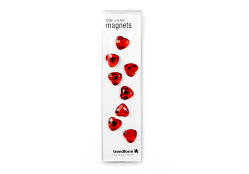 Trendform Trendform Set of 8 Mini Hearts Magnets