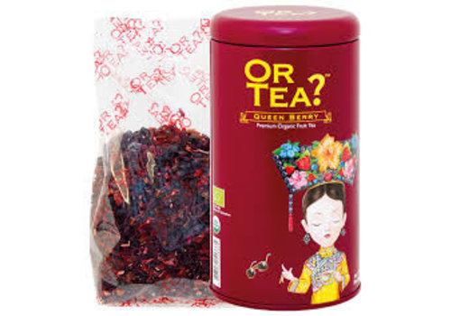 Or Tea Or Tea Queen Berry Rode Vruchten Infusie