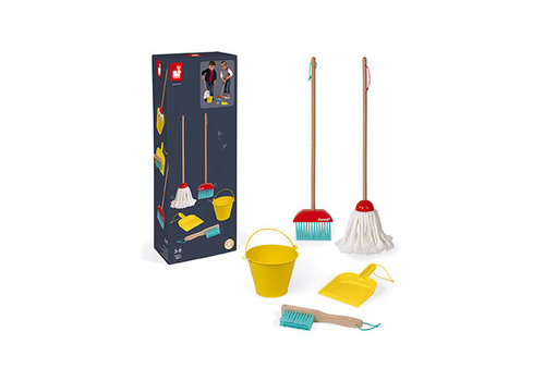 Janod Janod Cleaning Set in Wood