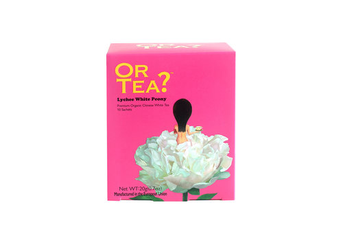 Or Tea Or Tea White Peony Lychee Witte Thee 10 zakjes