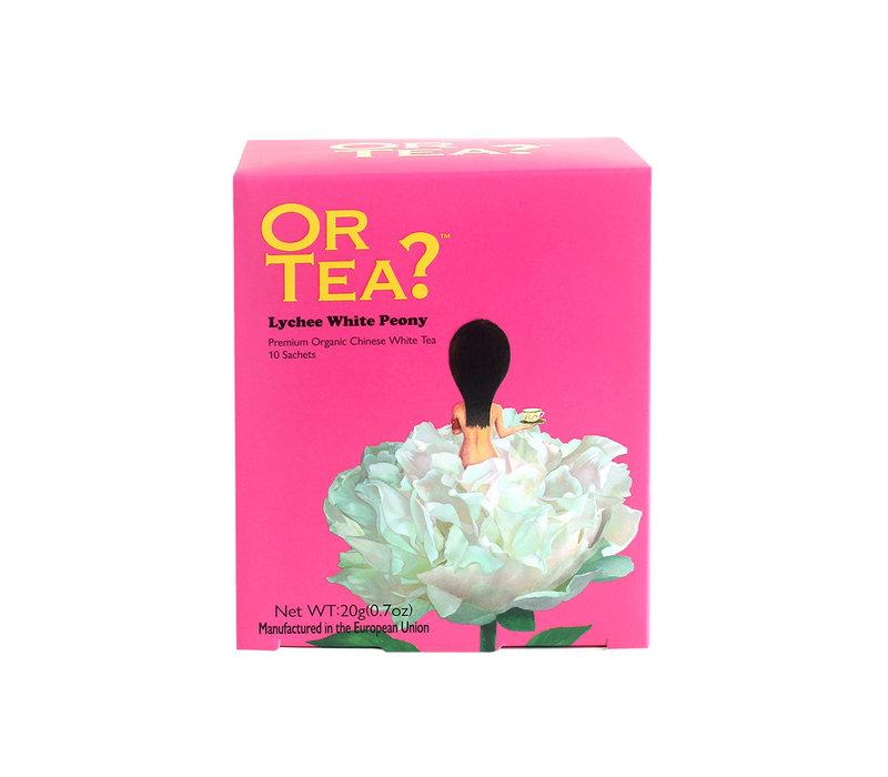 "Or Tea ""White Peony"" Lychee Flavoured White Tea"