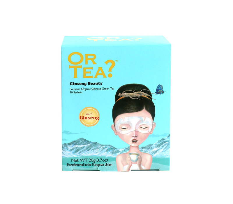 Or Tea Ginseng Beauty Green Tea with Herbal Infusion 10 bags