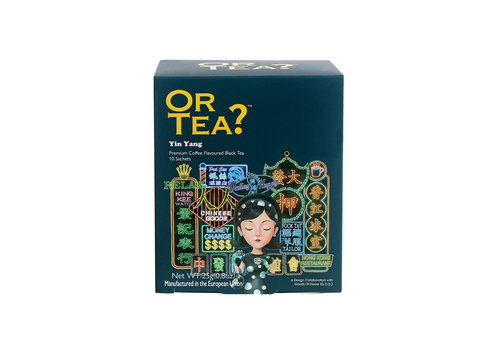 "Or Tea Or Tea ""Yin Yang"" Coffee flavoured black tea 25g."