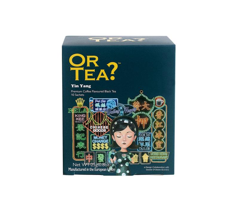 "Or Tea ""Yin Yang"" Coffee flavoured black tea 25g."