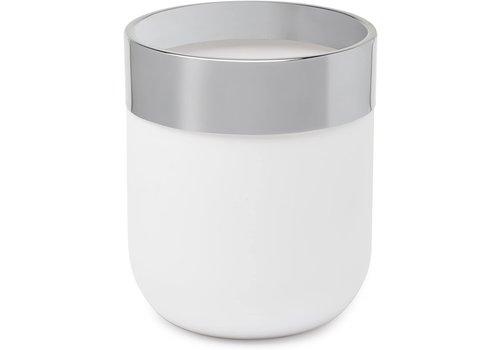 Umbra Umbra Junip Waste Can White/Chrome
