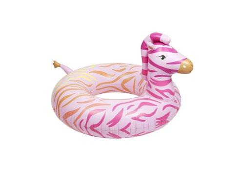 Sunnylife Sunnylife Luxe Pool Ring Zebra