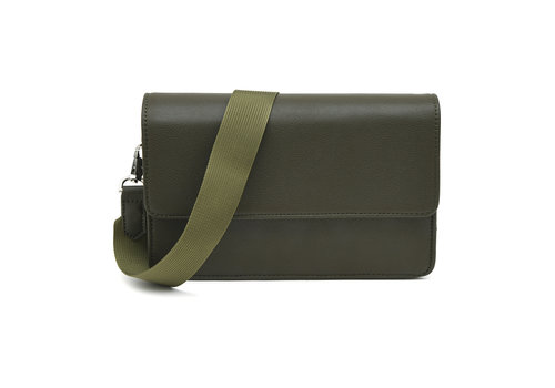 "Denise Roobol Denise Roobol ""Wallet Clutch"" Army Green"