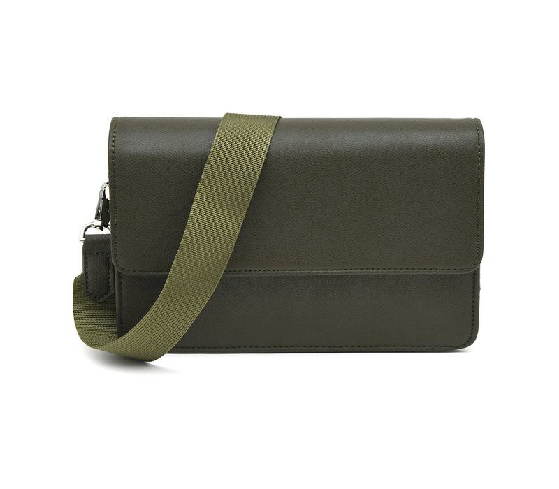 "Denise Roobol ""Wallet Clutch"" Army Green"