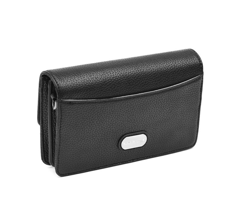 "Denise Roobol ""Wallet Clutch"" Black"