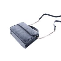 """Denise Roobol """"Mini Handle Bag"""" Dark Blue Velvet"""