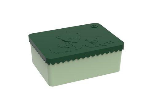 Blafre Blafre Lunchbox Bear Dark Green