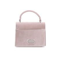 "Denise Roobol ""Mini Handle Bag"" Nude Velvet"