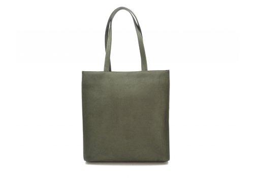 Denise Roobol Denise Roobol Plain Work Bag Nubuck Groen