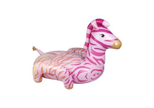 Sunnylife Sunnylife Inflatable Luxe Ride-On Float Zebra