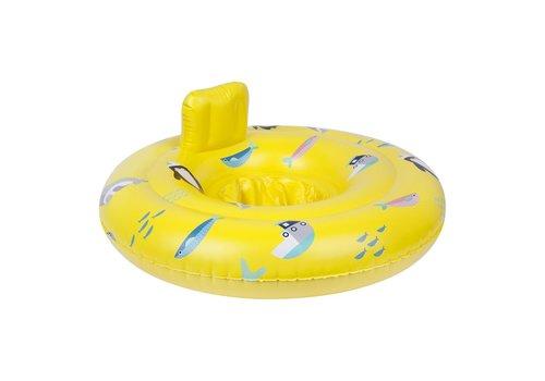 Sunnylife Sunnylife Opblaasbaar Baby Zwemzitje Explorer