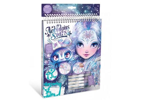 Nebulous Stars Nebulous Stars Creatief Schetsboek Ijs en Glitter Met Gelpennen