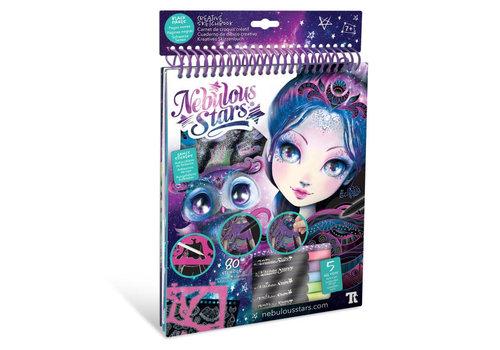 Nebulous Stars Nebulous Stars Schetsboek Zwart Papier met Stiften