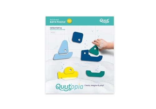 Quut Quutopia Bath Puzzle Boats