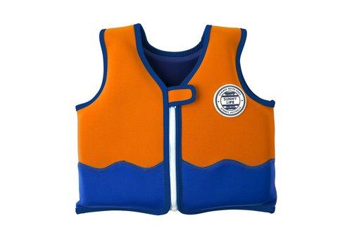 Sunnylife Sunnylife Kids Float Vest 'Sharky' 1-2 yrs