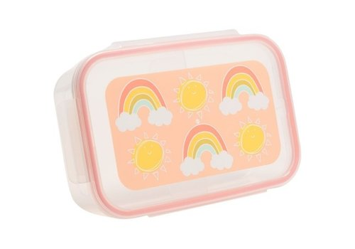 "Sugarbooger Sugarbooger Good Lunch Bento Box ""Rainbows & Sunshine"""