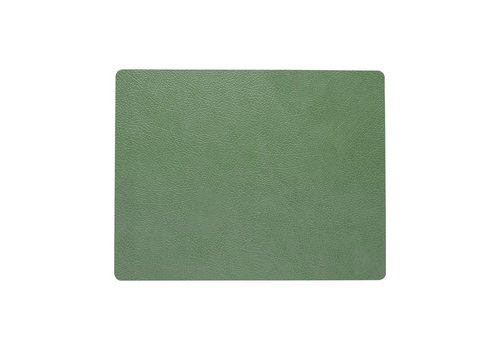LIND DNA LIND DNA Placemat Square L Hippo Forest Green