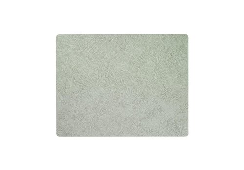 LIND DNA LIND DNA Placemat Square L Hippo Olive Green