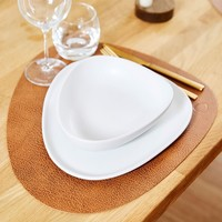 LIND DNA Placemat Square L Hippo Nature
