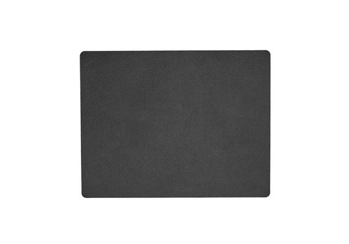 LIND DNA LIND DNA Placemat Square L Hippo Black-Anthracite