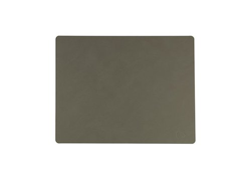 LIND DNA LIND DNA Placemat Square L Nupo Army Green