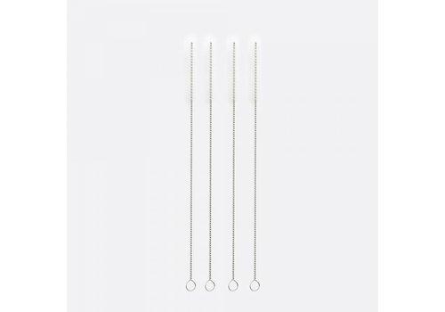 Point-Virgule Point-Virgule Set of 4 Cleaning Brushes for Reusable Drinking Straws 20 cm