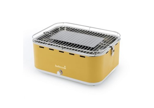 Point-Virgule Barbecook Carlo Houtskooltafelgrill Sunshine Yellow