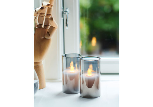 Sirius Sirius Ivy Mini Glass Set of 2 LED Candles