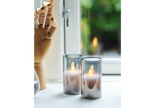 Sirius Sirius Ivy Mini Glass Set of 2 LED Candles
