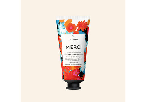 The Gift Label The Gift Label Hand Cream Tube Merci