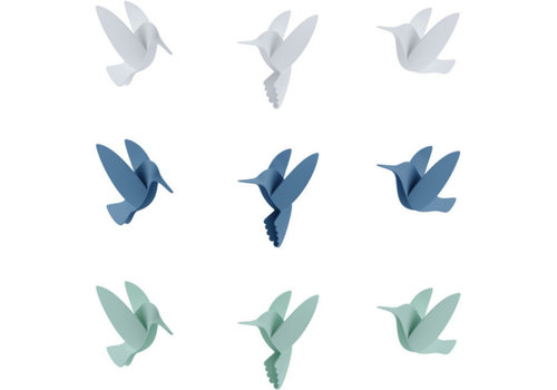 Umbra Umbra Hummingbird Wall Decoration 3 Colors