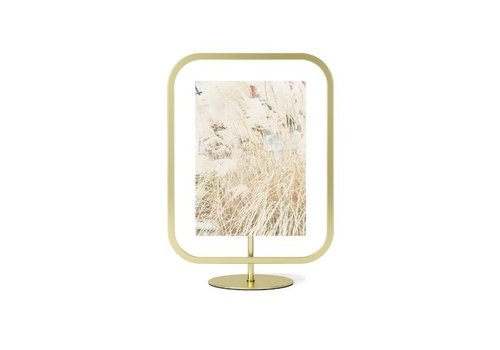 Umbra Umbra Infinity Square Photo Display 13 x 18 Mat Brass