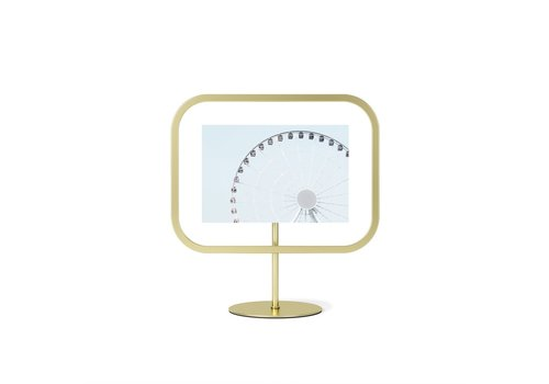 Umbra Umbra Infinity Square Photo Display 10 x 15 Mat Brass